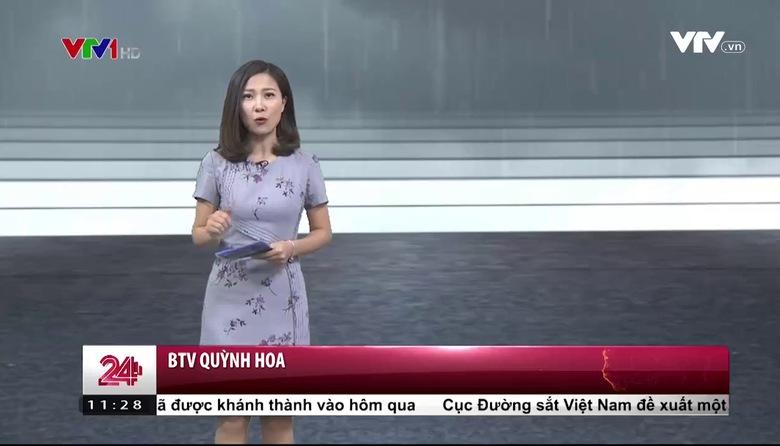 Bản tin thời tiết 11h30 - 25/4/2017