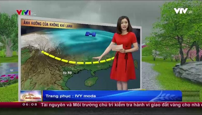 Thời tiết 6h10 - 26/4/2017