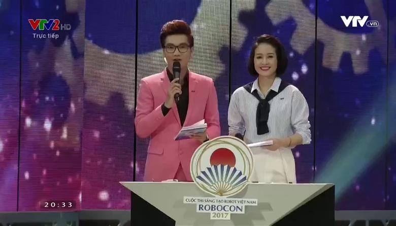 Chung kết Robocon 2017: Thi đấu bảng E, F - Phần 1