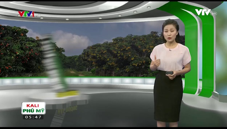 Bản tin thời tiết nông vụ - 22/5/2017