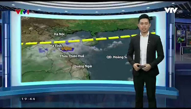 Bản tin thời tiết 19h45 - 25/5/2017