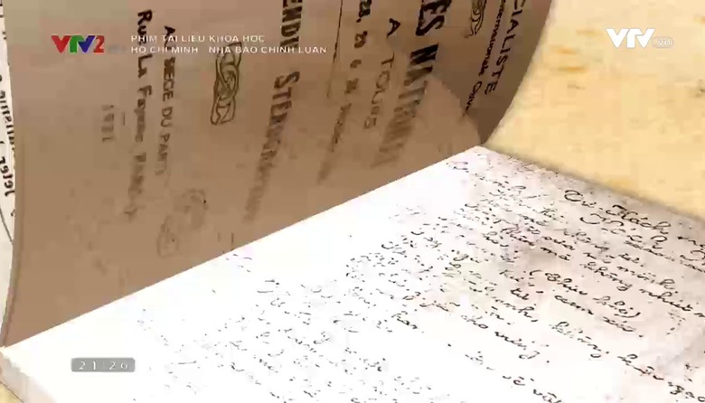 Phim tài liệu khoa học: Hồ Chí Minh - Nhà báo chính luận