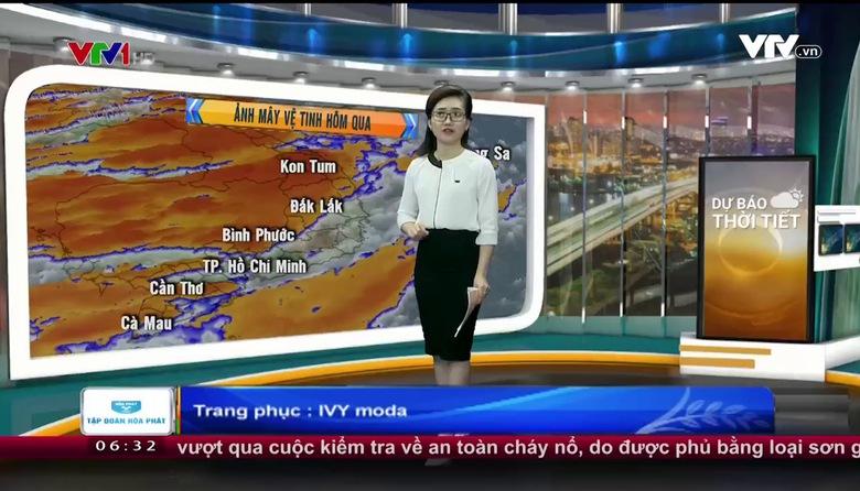 Bản tin thời tiết 6h30 - 25/6/2017
