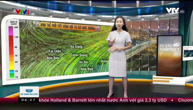 Bản tin thời tiết 6h30 - 27/6/2017