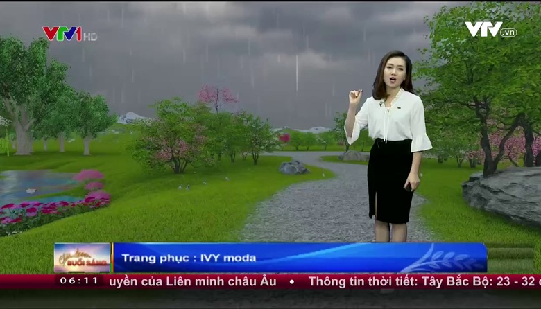 Bản tin thời tiết 6h10 - 28/6/2017