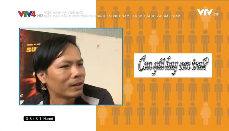 Việt Nam và Thế giới: Mất cân bằng giới tính khi sinh tại Việt Nam - thực trạng và giải pháp
