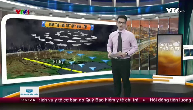 Bản tin thời tiết 6h30 - 20/7/2017