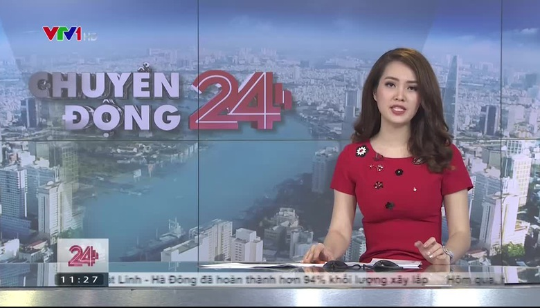 Bản tin thời tiết 11h30 - 21/7/2017