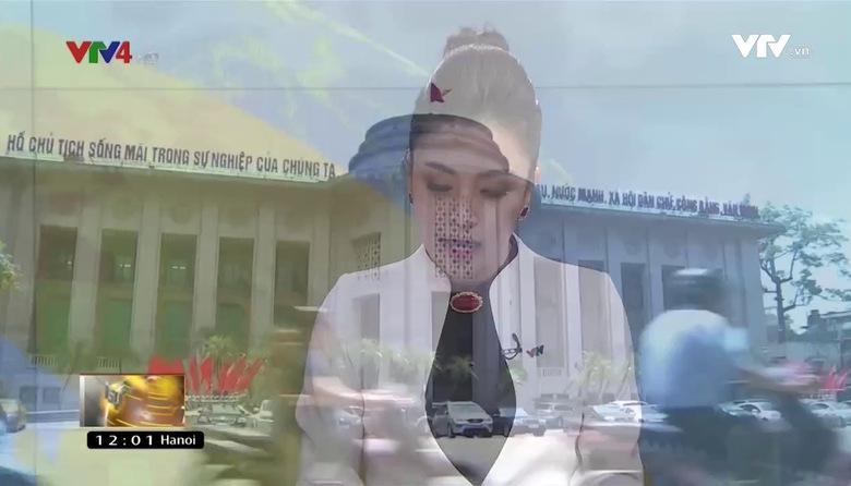 Bản tin tiếng Việt 12h VTV4 - 21/7/2017