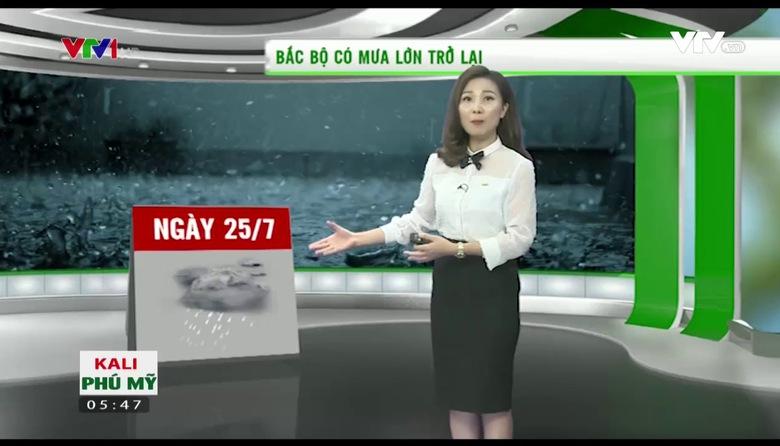 Bản tin thời tiết nông vụ - 24/7/2017