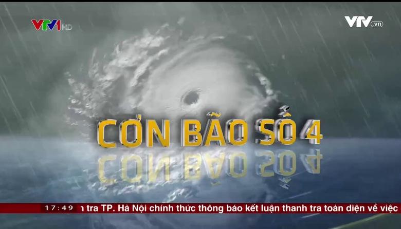 Bản tin thời tiết 18h - 25/7/2017