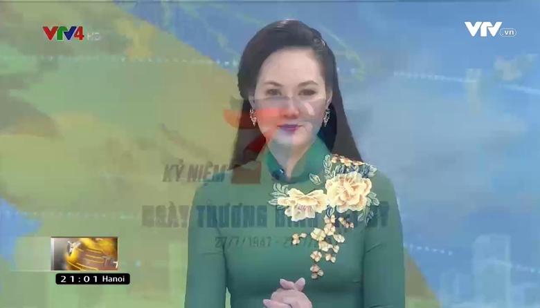Bản tin tiếng Việt 21h VTV4 - 25/7/2017