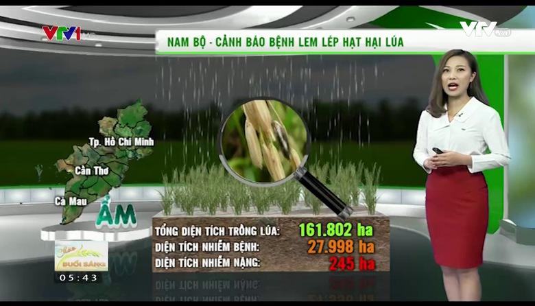 Bản tin thời tiết nông vụ - 17/8/2017