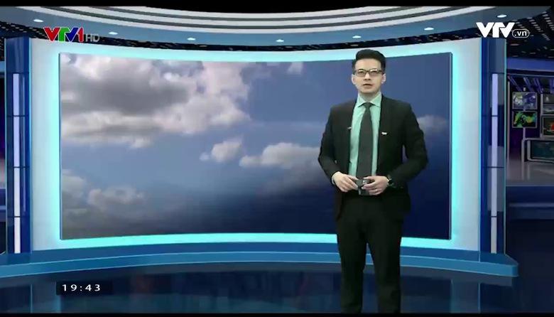Bản tin thời tiết 19h45 - 19/8/2017