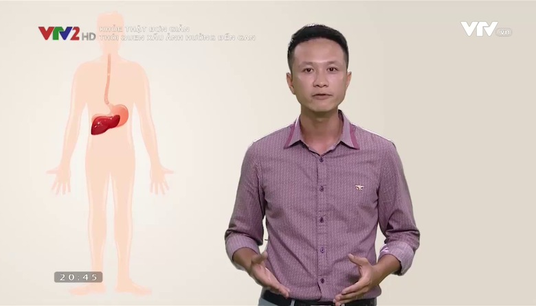 Khỏe thật đơn giản: Thói quen xấu ảnh hưởng đến gan