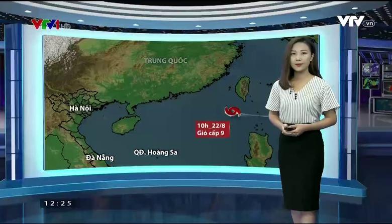 Bản tin thời tiết 12h30 - 23/8/2017