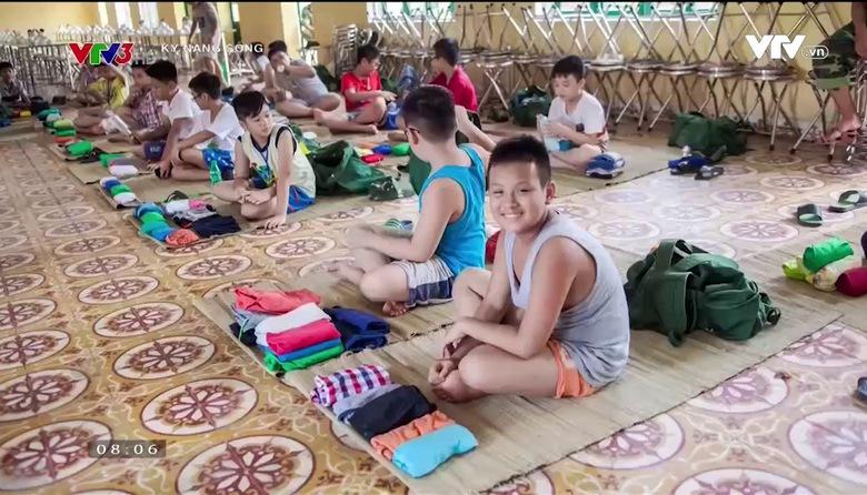 Kỹ năng sống: Học kỳ quân đội cho trẻ