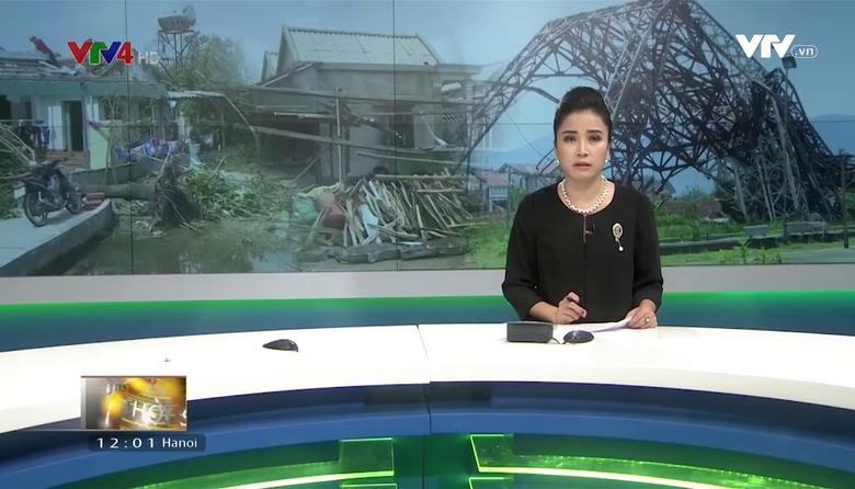 Bản tin tiếng Việt 12h VTV4 - 17/9/2017
