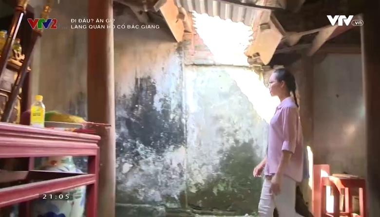 Đi đâu ? ăn gì ?: Làng quan họ cổ Bắc Giang