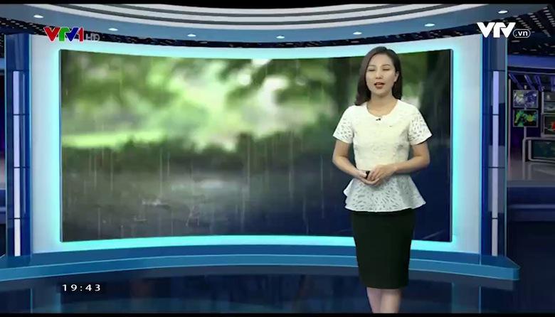 Bản tin thời tiết 19h45 - 19/9/2017