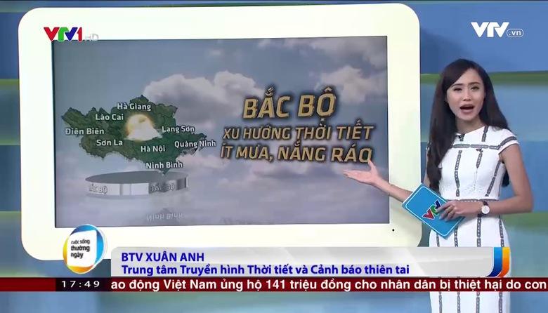 Bản tin thời tiết 18h - 21/9/2017