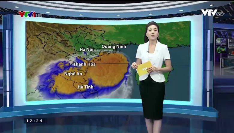 Bản tin thời tiết 12h30 - 25/9/2017