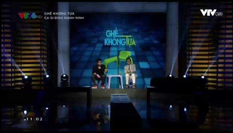 Ghế không tựa: Ca sĩ Đinh Mạnh Ninh