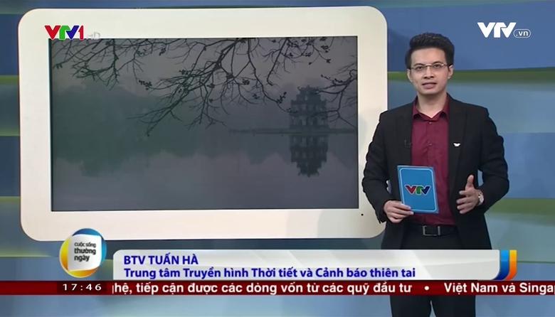 Bản tin thời tiết 18h - 23/3/2017