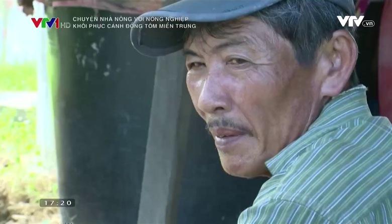 Chuyện nhà nông với nông nghiệp: Khôi phục cánh đồng tôm miền Trung