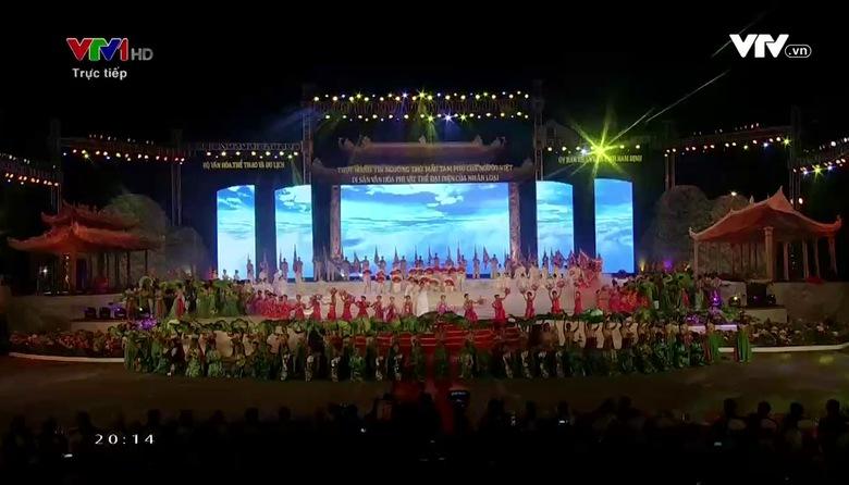 Lễ đón bằng Unesco ghi danh Thực hành Tín ngưỡng Tam phủ của người Việt - 02/4/2017