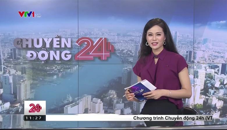 Bản tin thời tiết 11h30 - 24/4/2017