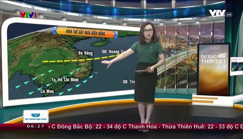Bản tin thời tiết 6h30 - 28/5/2017