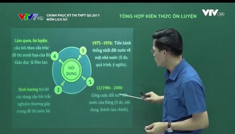 Chinh phục kỳ thi THPT QG - 18/6/2017