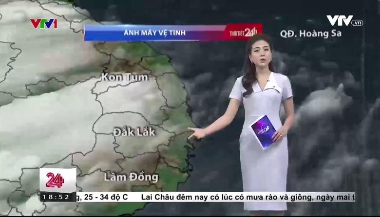 Bản tin thời tiết 18h45 - 24/6/2017