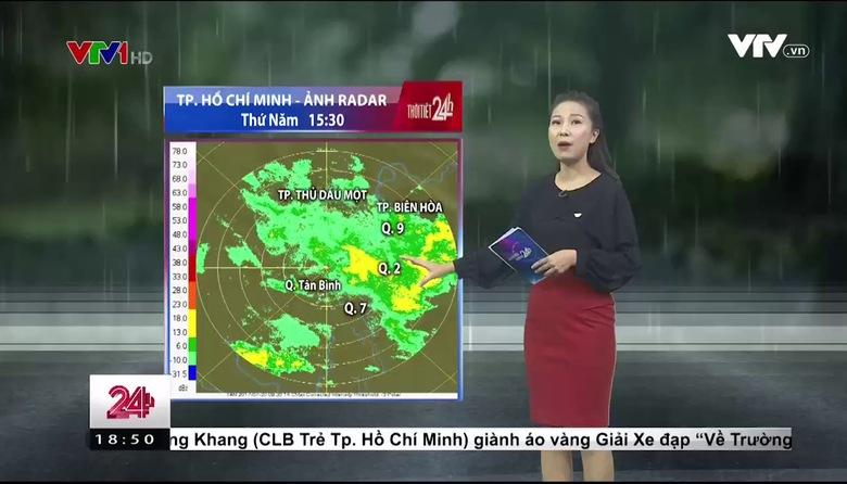 Bản tin thời tiết 18h45 - 20/7/2017