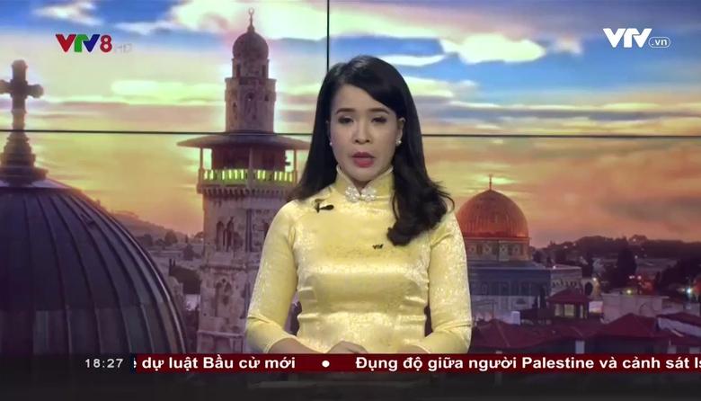 Bản tin 18h VTV8 - 23/7/2017