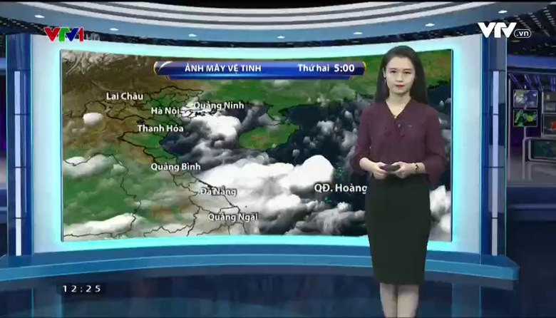 Bản tin thời tiết 12h30 - 24/7/2017