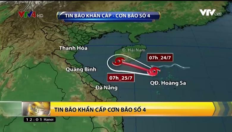Bản tin tiếng Việt 12h VTV4 - 24/7/2017