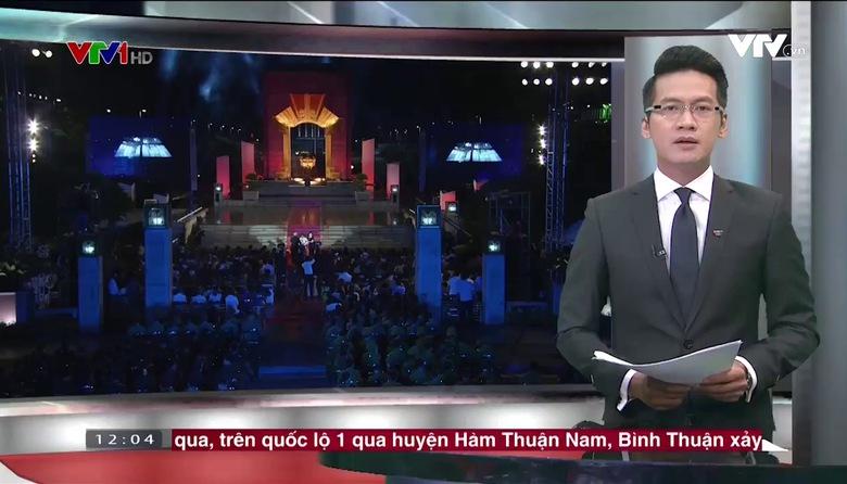 Thời sự 12h VTV1 - 27/7/2017