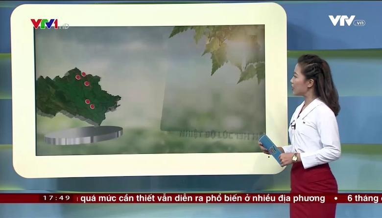 Bản tin thời tiết 18h - 27/7/2017