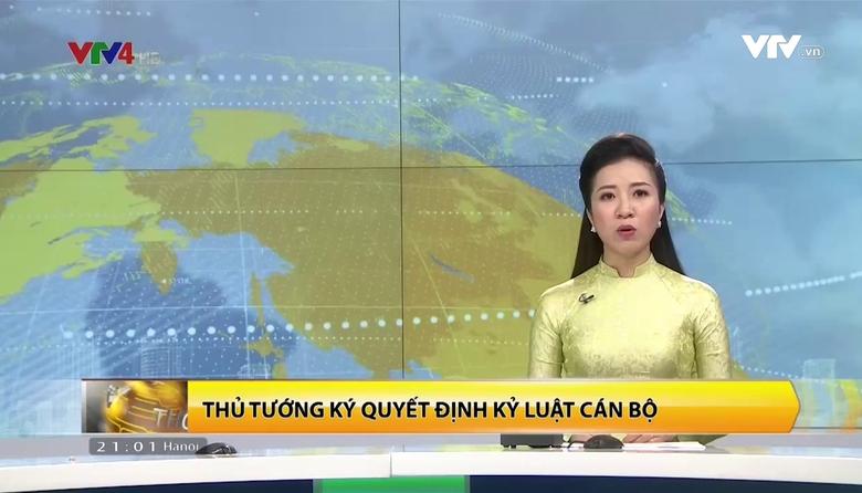 Bản tin tiếng Việt 21h VTV4 - 16/8/2017