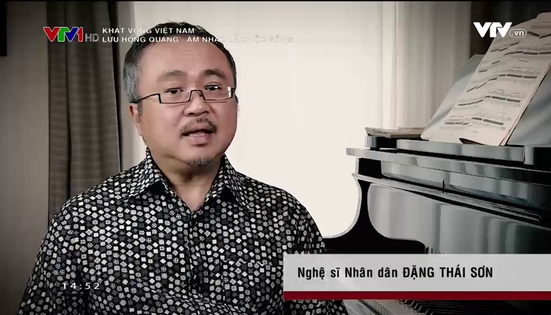 Khát vọng Việt Nam: Lưu Hồng Quang - Âm nhạc là cuộc sống