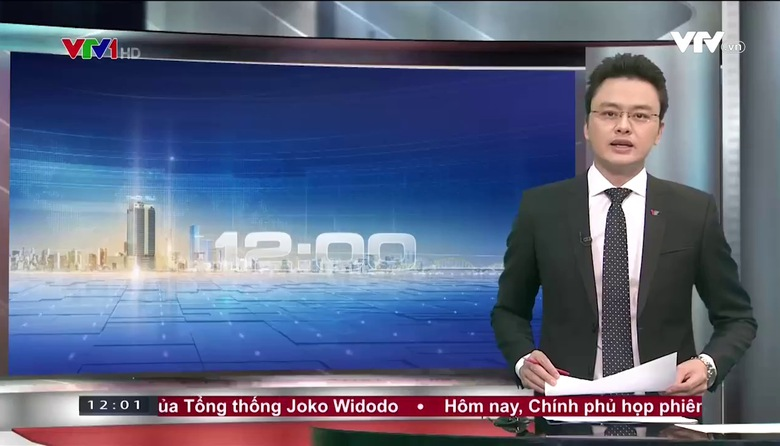 Thời sự 12h VTV1 - 22/8/2017