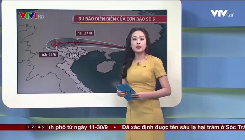 Bản tin thời tiết 18h - 23/8/2017