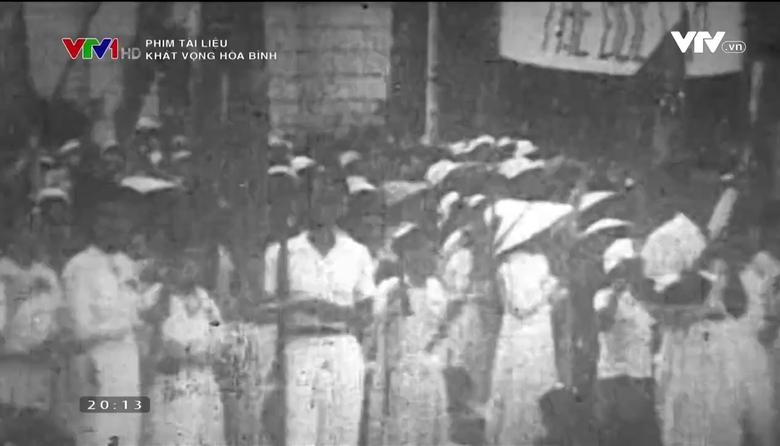 Phim tài liệu: Khát vọng hòa bình