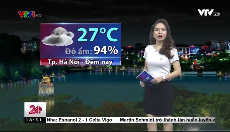 Bản tin thời tiết 18h45 - 19/9/2017