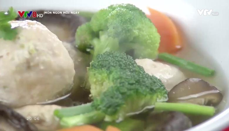Món ngon mỗi ngày: Canh nấm càng cua