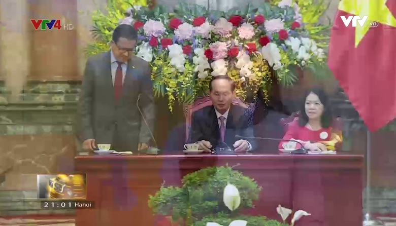 Bản tin tiếng Việt 21h VTV4 - 22/9/2017