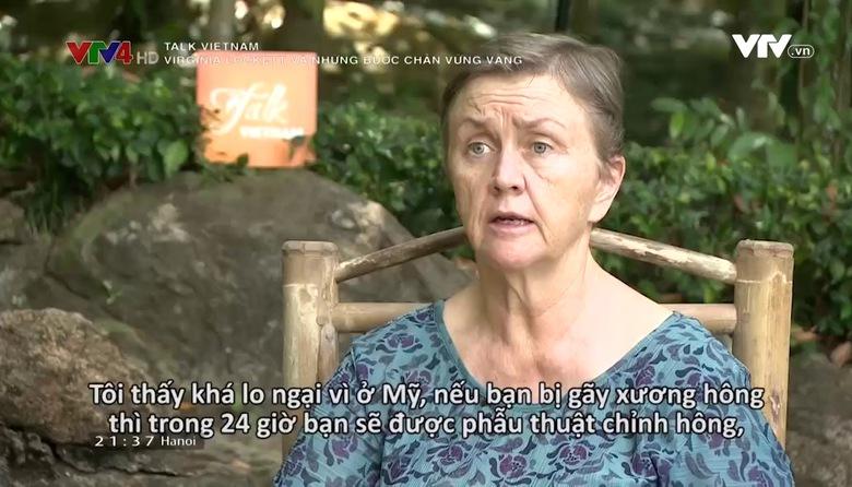 Talk Vietnam: Virginia Lockett và những bước chân vững vàng