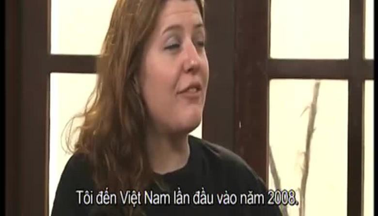 Việt Nam trong tim tôi:SARAH RYAN - Phần 1: Yêu Việt Nam ngay từ lần đầu tiên